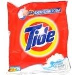 Powder detergent Tide white for washing 150g Russia
