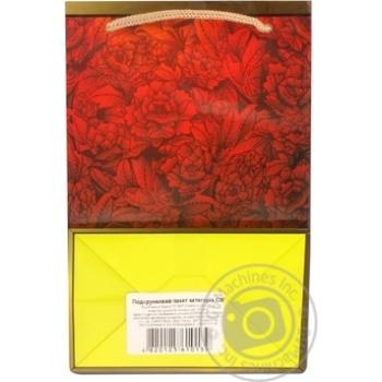 Пакет подарунковий 15х7,5х15см в асортименті - купити, ціни на CітіМаркет - фото 3