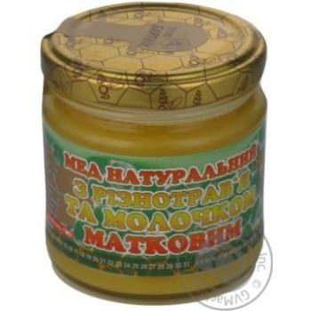Мед с молочком маточным 250г Бартник