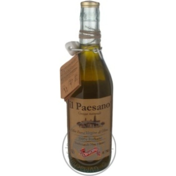 Масло оливковое il Paesano Diva Oliva нефильтрованное 0,75л
