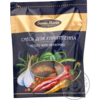Spices Santa maria for mulled wine 37g packaged