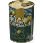 olive Delfi green pitted 390g Greece