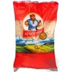 Groats rice Krupskij long grain parboiled 1000g Ukraine