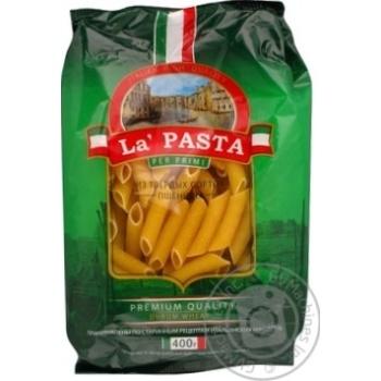 Макароны перья Ла паста 400г - купить, цены на Ашан - фото 3