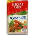 Сосиски З молоком М'ясна Лавка вар.1с п/а в/у 300г