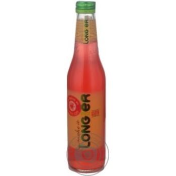 Напиток Лонгмиксер Арбуз слабоалкогольный негазированный на основе натурального сока стеклянная бутылка 7%об. 330мл Украина