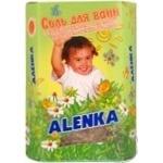 Сіль для ванн дитяча Alenka з екстрактом череди та лікарських трав 500г