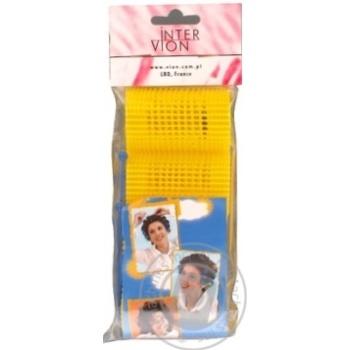 Бігуді для волосся Inter-Vion 499602 4шт - купити, ціни на МегаМаркет - фото 1
