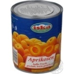 Apricot halves Iska in light syrup 820g Greece