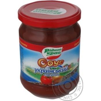 Ridniy Kray Ukrainian Classic Tomato Sauce 485g - buy, prices for Novus - image 1