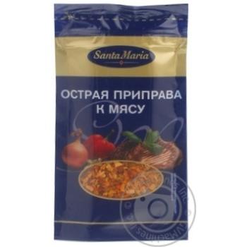 Приправа Санта Мария к мясу острая 20г Эстония - купить, цены на Novus - фото 5