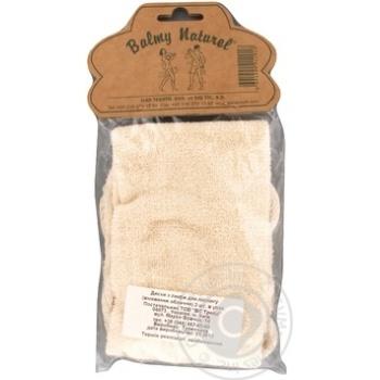 Лента массажная + рукавица Balmy Naturel 12018 - купить, цены на МегаМаркет - фото 1
