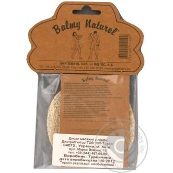 Диски Balmy Naturel для пилинга из люфы - купить, цены на МегаМаркет - фото 2