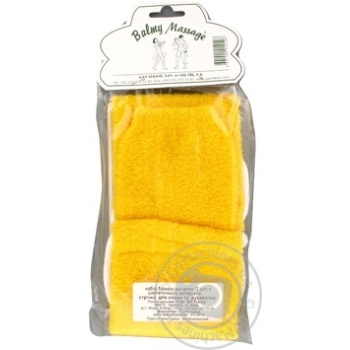 Лента массажная + рукавица Balmy Naturel 10106 - купить, цены на МегаМаркет - фото 2
