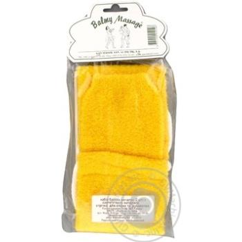 Лента массажная + рукавица Balmy Naturel 10106 - купить, цены на МегаМаркет - фото 4