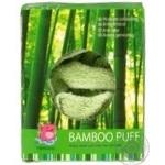 Мочалка-пуф Camille бамбук - купить, цены на Фуршет - фото 1