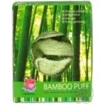 Мочалка-пуф Camille бамбук - купить, цены на Фуршет - фото 4