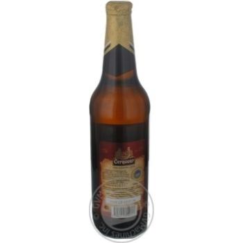 Пиво Чорновар світле 4.9% 500мл - купити, ціни на Novus - фото 2