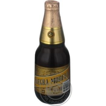 Пиво Нэгра Модэло темное пастеризованное 5.3%об. стеклянная бутылка 355мл Мексика