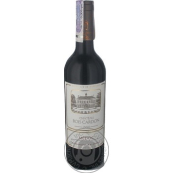 Wine sauvignon Cheval quancard red dry 13% 2010year 750ml glass bottle France