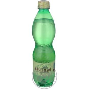 Вода Набэглави сильногазированная лечебно-столовая пластиковая бутылка 500мл Грузия