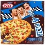Pizza pepperoni Vici with sausage 335g