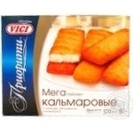 Burgers Vici with squid precooked 370g Russia