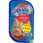 Fish herring Vici Lyubo est preserves for potato 500g vacuum packing Russia