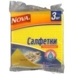 Sponge Novax for washing 3pcs Ukraine