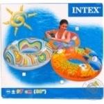 Круг надувний з ручками Intex 58263