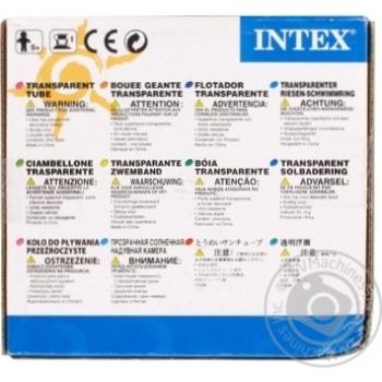 Круг надувной с ручками Intex 58263 - купить, цены на Фуршет - фото 2