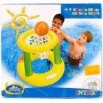 Центр Intex надувной Пляжный Баскетбол Кольцо