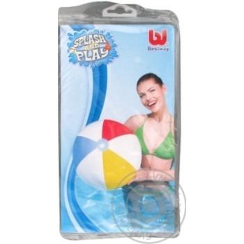 Мяч Bestway надувной цветной 61см