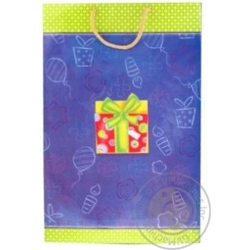 Пакет Королівство подарунків для подарунків Великий - купити, ціни на Фуршет - фото 1