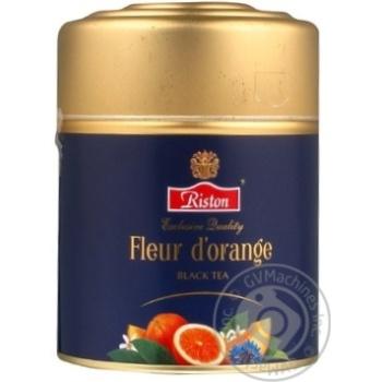 Black tea Riston Fleur d'orange 80g can Sri Lanka