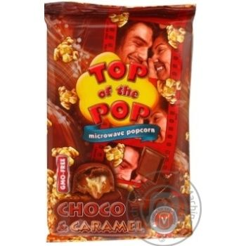 Top of Pop Caramel Flavor Popcorn for Microwave Oven 100g - buy, prices for Novus - image 4