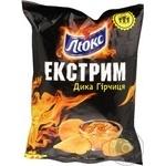Чіпси Люкс Екстрим зі смаком гірчиці 80г Україна