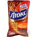 Чипсы Люкс аппетитный гамбургер 70г Украина