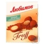 Конфеты Любимов миндаль в молочном трюфели 135г Украина