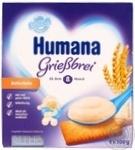 Пудинг Хумана детский манный с печеньем с 8 месяцев 3.4% 4х100г