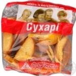 Сухари горчица 300г в упаковке Украина