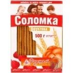 Соломка Фруктовая 500г в упаковке Украина