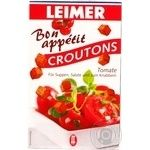 Сухаріки Крутонс з томатами Leimer 100г