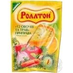 Spices Rollton vegetable for soup 100g packaged Ukraine