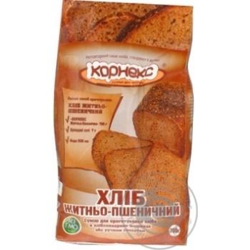 Суміш Корнекс Хліб Житньо-Пшеничний 700г