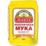 Мука Макфа пшеничная высший сорт 1кг