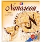 Мороженое-торт Роза Наполеон 600г картонная упаковка Украина