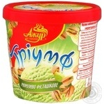 Ice-cream Azhur Triumf with almonds 300g bucket Ukraine