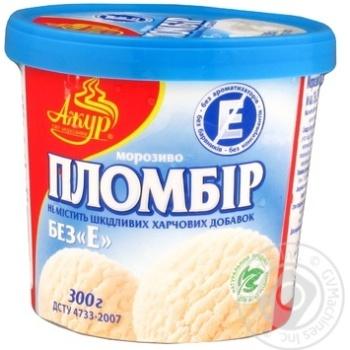 Ice-cream Azhur Without e glace plombieres 300g bucket Ukraine