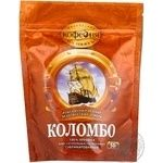 Instant natural sublimated coffee Moscow Coffee House Colombo 100% Arabica 50g Russia
